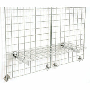 36 x12 Wire Shelves With Brackets 3 pk Lot Of 1