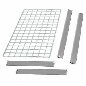 Bulk Rack Additional Level With Wire Deck 72 w X 48 d Gray Lot Of 1