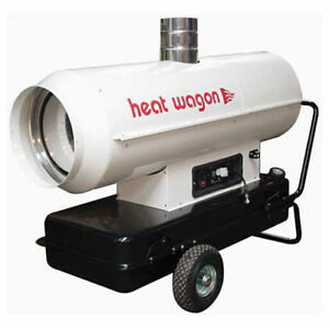 Heat Wagon Oil Indirect Fired Heater 300k Btu Ductable Lot Of 1