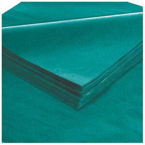 20 X 30 Teal Tissue Paper 480 Pack Lot Of 1