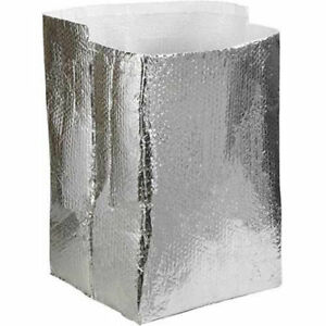 18 x18 x18 Cool Shield Insulated Box Liners 10 Pack Lot Of 1