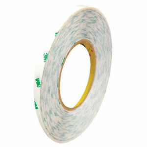 Adhesive Transfer Tape Hand Rolls 1 4 X 60 Yds 5 Mil Clear Pack Of 6 3m 9085