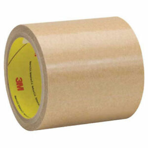 Adhesive Transfer Tape Hand Rolls 4 1 4 X 60 Yds 1 Mil Clear 3m 9458 Lot Of