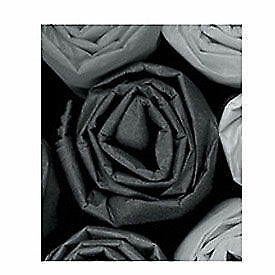 20 X 30 Black Tissue Paper 480 Pack Lot Of 1