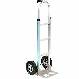 Magliner Aluminum Hand Truck With Pin Handle Semi pneumatic Wheels Lot Of 1