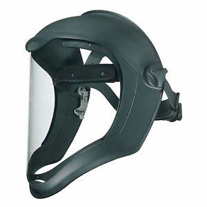Uvex Bionic x2122 Face Shield W Suspension Uncoated Visor S8500 Lot Of 1