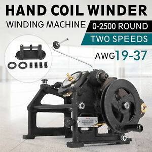 Hand Coil Winder Winding Machine 0 11 0 91 Wire Dia Precision 1 6 Fast Great