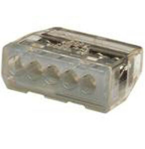 Ideal 30 087j Wire Connector Push in 5 port 20 12 Awg Gray 150 jar