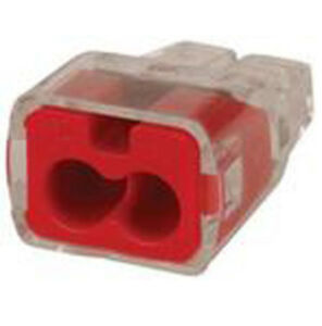 Ideal 30 1032j Wire Connector 2 port Push in 18 12 Awg 300 jar