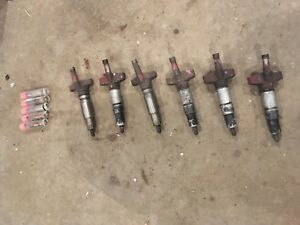 International Farmall 806 856 Diesel Injectors With Extra Set Of Tips