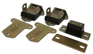 Small Block Chevy Engine Transmission Mount Set Poly Side Mount V8 Pair