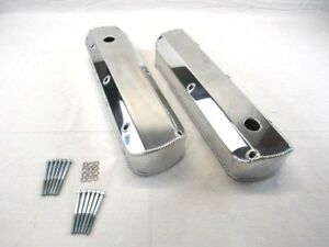 Sbf 289 302 351 Fabricated Tall Alum Valve Covers Polished Bpe 2325p