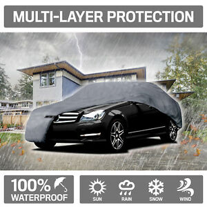 Motor Trend Waterproof 4 Layer Outdoor Car Cover For Ford Mustang 2005 2014