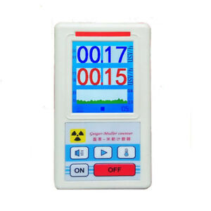 Display Screen Geiger Counter Nuclear Radiation Detector Dosimeter Tester H3i0