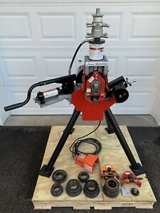 Victaulic Ve416fsd Hydraulic Vic Roll Groover 2 16 Grooving Ridgid 920 300 918