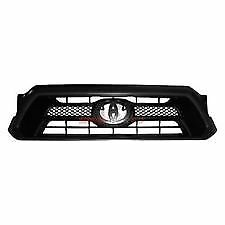 Fits 2012 2015 Toyota Tacoma Front Bumper Grille Textured Black New