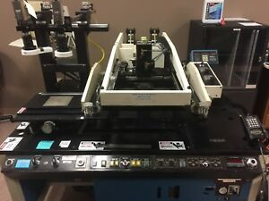 Ami Model 9156 Screen Printer For Electronics Automated With Vision System