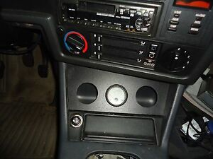 Bmw E30 1984 1991 Gauge Holder By Ash Tray 3 52mm