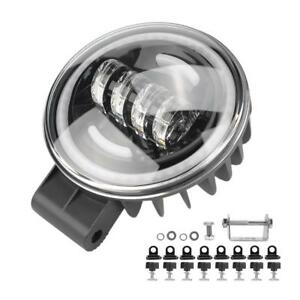 6inch 35w Universal Led Driving Work Lights Front Bumper Lamp For Atv Suv Truck