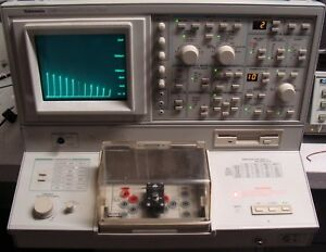 Tektronix 370b Programmable Curve Tracer With Manuals Nist Calibrated