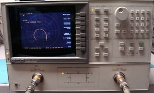 Hp Agilent 8720c 20 Ghz Vector Network Analyzer W Opt 001 Nist Calibrated