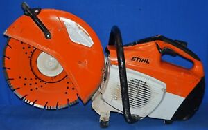 Stihl Ts500i Concrete Cut off Saw With Water Line