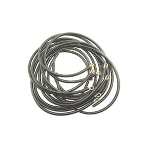 Spark Plug Wire Set Black With Hook Type Ends V8 Ford Commercial
