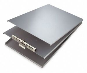 Silver Aluminum Storage Clipboard Legal File Size 9 1 8 W X 14 1 2 H 1 2