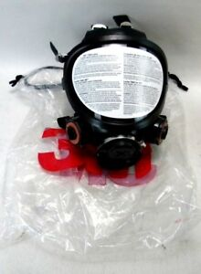 3m 7884 Full Face Respirator With Filter Fittings Gas Mask Riot Gear 3a 3