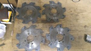 Iscar 1 25 Indexable Slot Milling Cutter Sgsf 125 3 1 250k With 156 Inserts