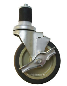 4pimsdset Swivel Caster With Brake Set For Imperial Single Deck Convection Oven