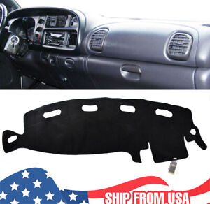 For Dodge Ram 1500 2500 3500 98 01 Dashmat Dash Cover Dashboard Mat Carpet