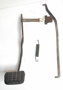 Oem Clutch Pedal Assembly Return Spring Rod Linkage 1967 72 Chevy gmc Truck