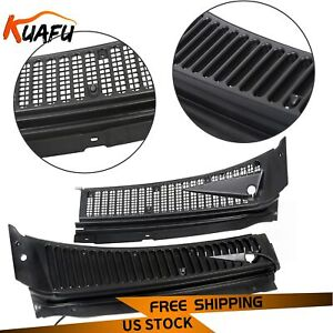 For Ford 99 07 F250 F350 Windshield Wiper Vent Cowl Screen Cover Grille Panel
