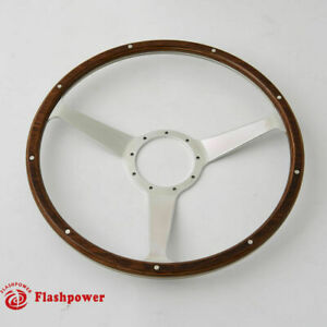 15 Classic Wood Steering Wheel Restoration Vintage Mg Gt Mgb Midget