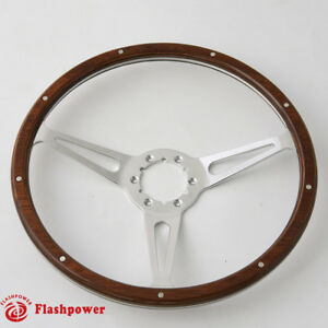 15 Gm Classic Wood Steering Wheel Direct Fit Restoration Muscle Car