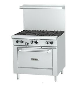 Garland X36 6r lp 36 Sunfire 6 burner Gas Range Lp