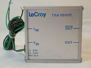 Lecroy Tra1000t Current Pulse Amplifier New