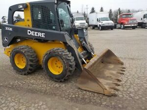 John Deere Skid Steer 2015 Wheel Loader 332e
