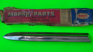 1953 Dodge Nos Front Fender Molding Left Side Mopar Oem Chrysler Part 1435496