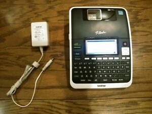 Brother P touch Pt 2730 Label Thermal Printer Label Maker With Wall Adapter