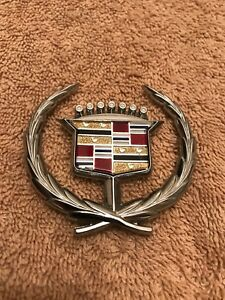 1971 78 Cadillac Hood Ornament Emblem Without Spring For Eldorado Fleetwood