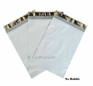 500 12x16 White Poly Mailers Shipping Envelopes Bags