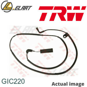 Warning Contact Brake Pad Wear For Land Rover Range Rover Iii Lm 448dt 508pn Trw