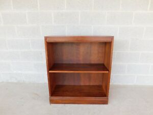 Stickley Cherry Open Bookcase Display Wall Cabinet Model 4311 B