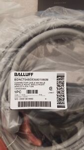 Baluff Cables Connector Cable 6 Meter Male female Right Angle 5 pin 7 8