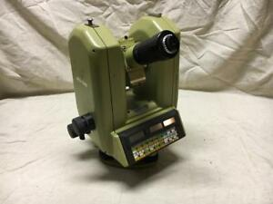 Leica Wild T3000 Heerbrugg Theodolite Total Survey Station With Case