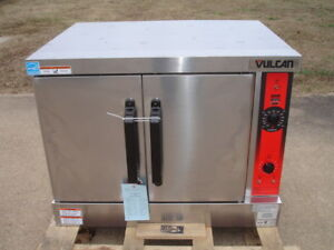 Vulcan Vc4gd 11d250k Natural Gas 115 Volt Single Deck Full Size Convection Oven