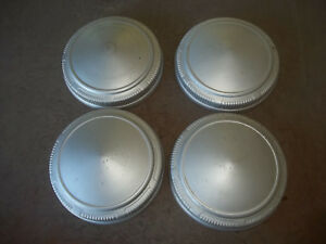 Dodge Plymouth Center Hub Cap Hubcap Rim Cover Poverty Dog Dish 9 Used Silver 4
