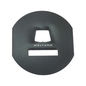 Model A Ford Speedometer Face Plate Black For Round Waltham Type Speedometer